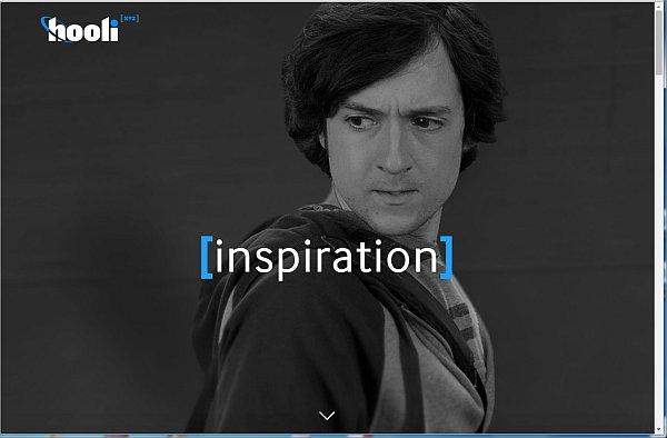 ... offnet sich die Webseite von Hooli.xyz. Diese Seite gehört nicht zu Google