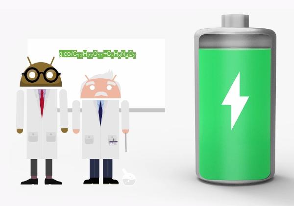 """Tafel mit """"chemischer"""" Formel"""