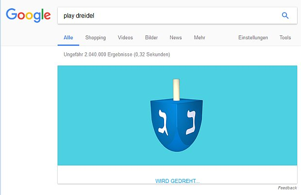 """Googlesuche nach """"play dreidel"""""""