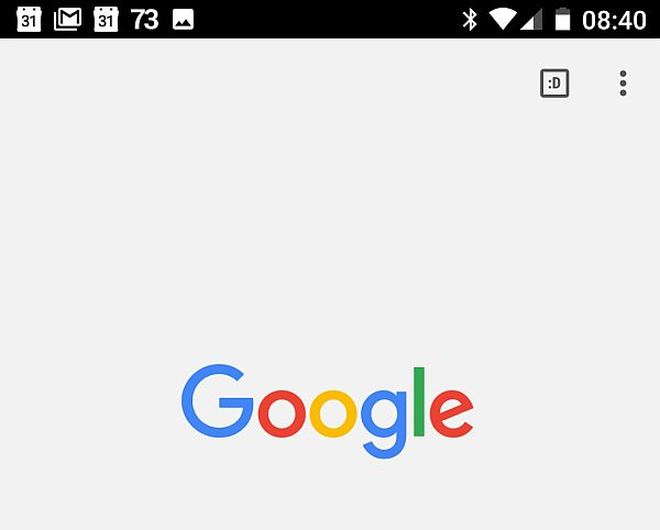 Der 100. Tab im des Chrome Browser