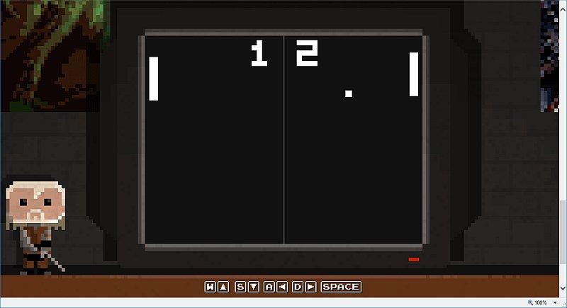 Ein kleines Pong Spiel