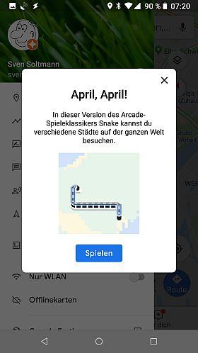 April, April - aber das Spiel wurde gefunden
