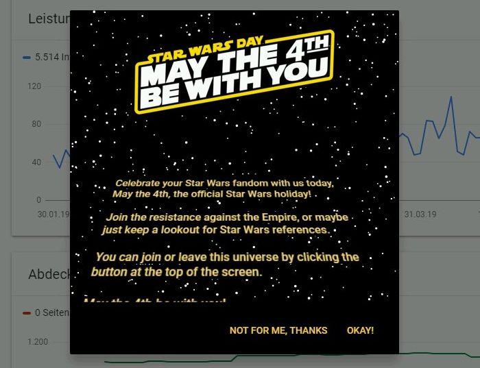 Einleitung zum Star Wars Modus
