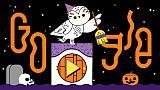 Google Doodle am 31. Oktober 2019