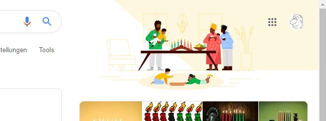 Afroamerikanisches Fest Kwanzaa