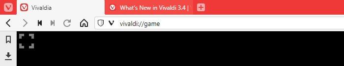 Adresszeile des Vivaldi-Browsers