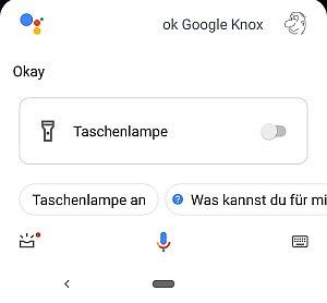 """Google schaltet bei """"Nox"""" die Taschenlampe wieder aus"""