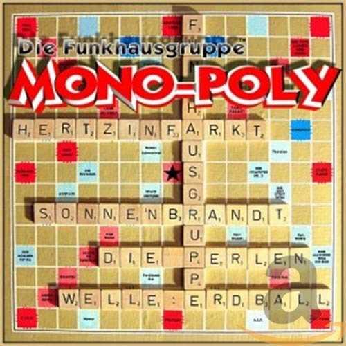 """CD Cover """"Die Funkhausgruppe - Mono-Poly"""""""
