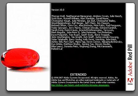 Infobildschirm Red Pill