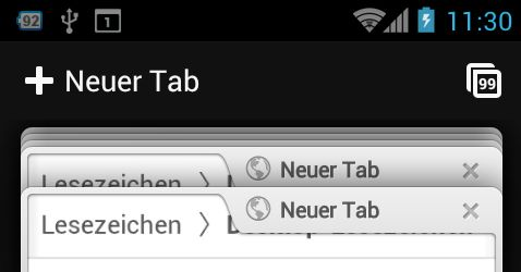 Chrome Browser f. Android