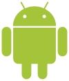 Das Logo von Android