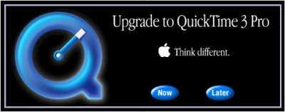 Aufforderung zum Upgrade