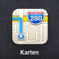 Icon der Apple - Karten - App