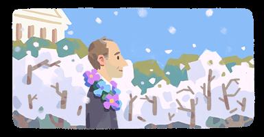 Google Doodle zu Ehren von Frank Kameny von