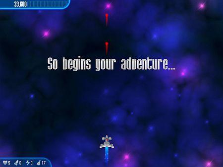 Screenshot, ganz am Anfang vom ersten Anfängerlevel