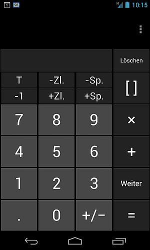 Taschenrechner mit Matrixberechnung