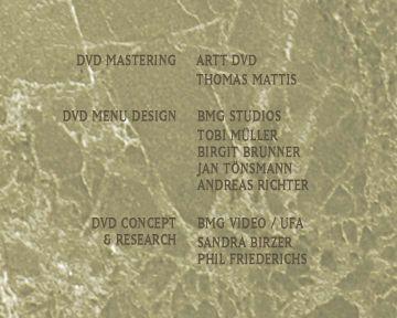 Die Hersteller der DVD