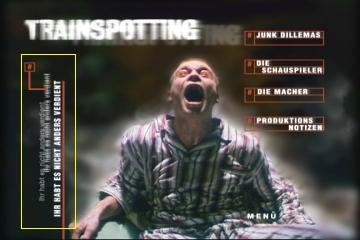 Menü für die DVD Credits