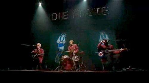 Verstecktes Menü auf der 2. DVD mit einem weiteren Konzertmitschnitt