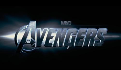 Schriftzug The Avengers