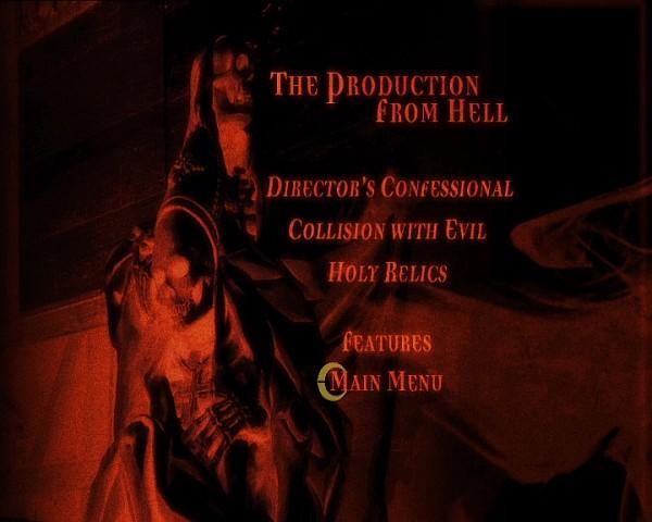 Screenshot Menü der 2. Disc