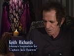 Screenshot vom Interview mit Keith Richards