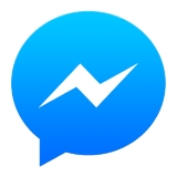 logo des Facebook Messengers