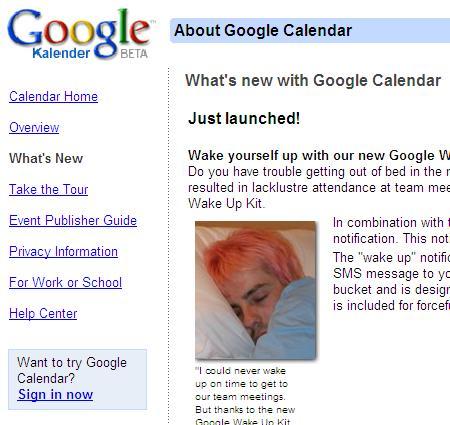 Richtig praktisch: Der Weckdienst von Google