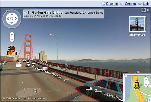 Google Streetview in 3D