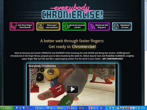 Ausschnitt aus der Webseite