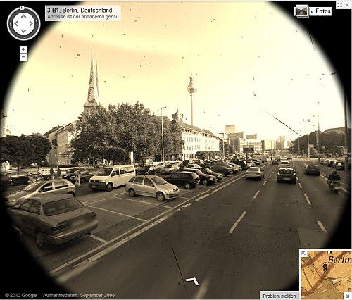Altertümliches Streetview