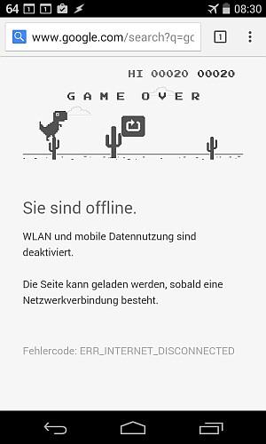 Ende des Spiels.