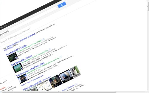 Google barrel roll mr doob click for details mr doob barrel roll