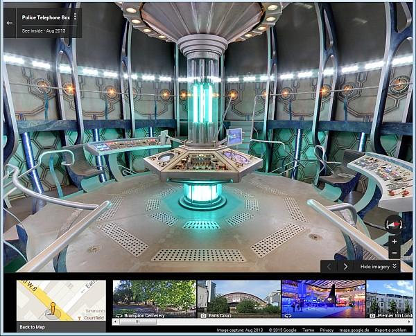 Ansicht der TARDIS