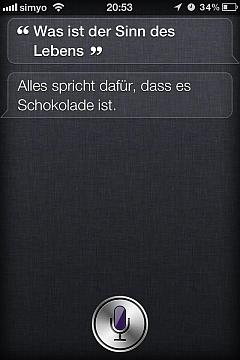 Siris Antworten