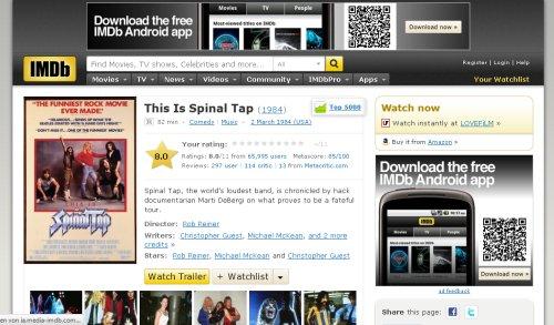 IMDb Webseite 06/2012