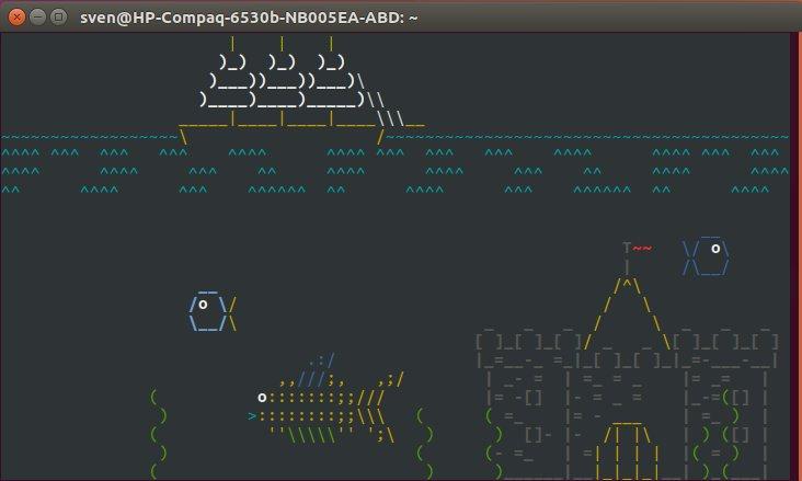 ASCIIquarium