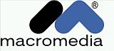 Logo der Firma Macromedia