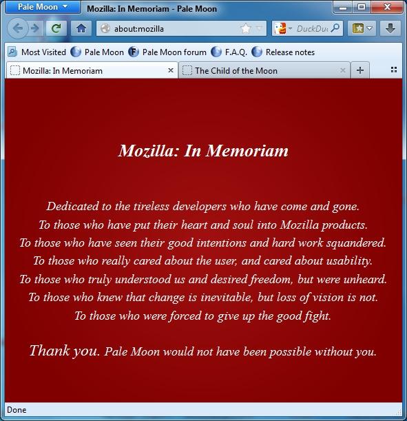 Kapitel aus dem Buch Mozilla