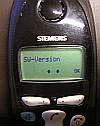 Servicemenü im Siemens C1