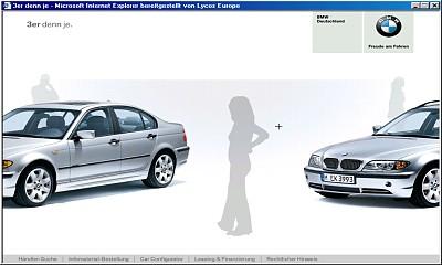 unerwartete Dinge bei BMW