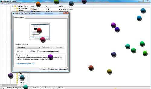 Billiardkugeln statt Seifenblasen