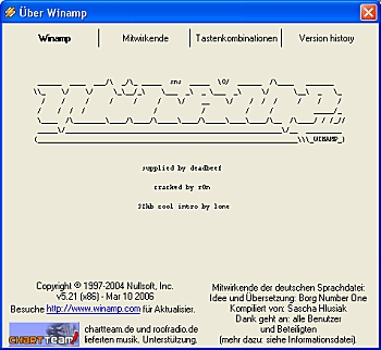 Infobildschirm als ASCII-Grafik